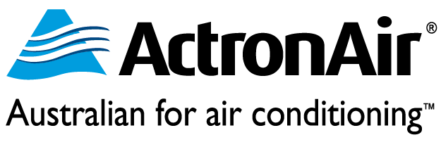 actronair - australian for air conditioning logo